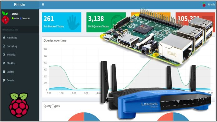 Network wide Ad Blocking With Raspberry pi Pi-Hole