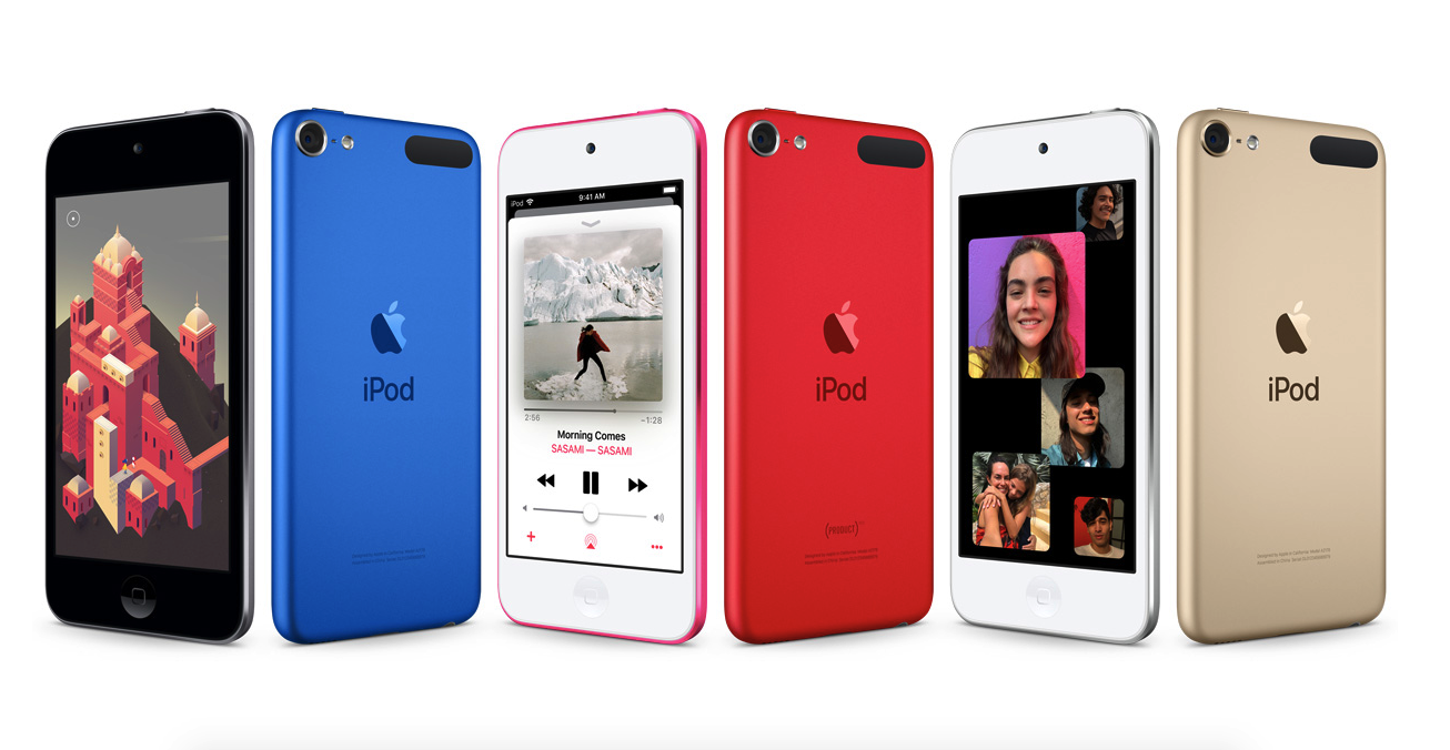 7th generation ipod touch colors
