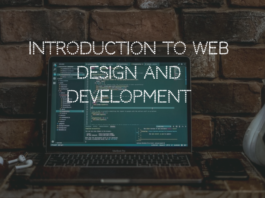 Introduction to Web Design and Development