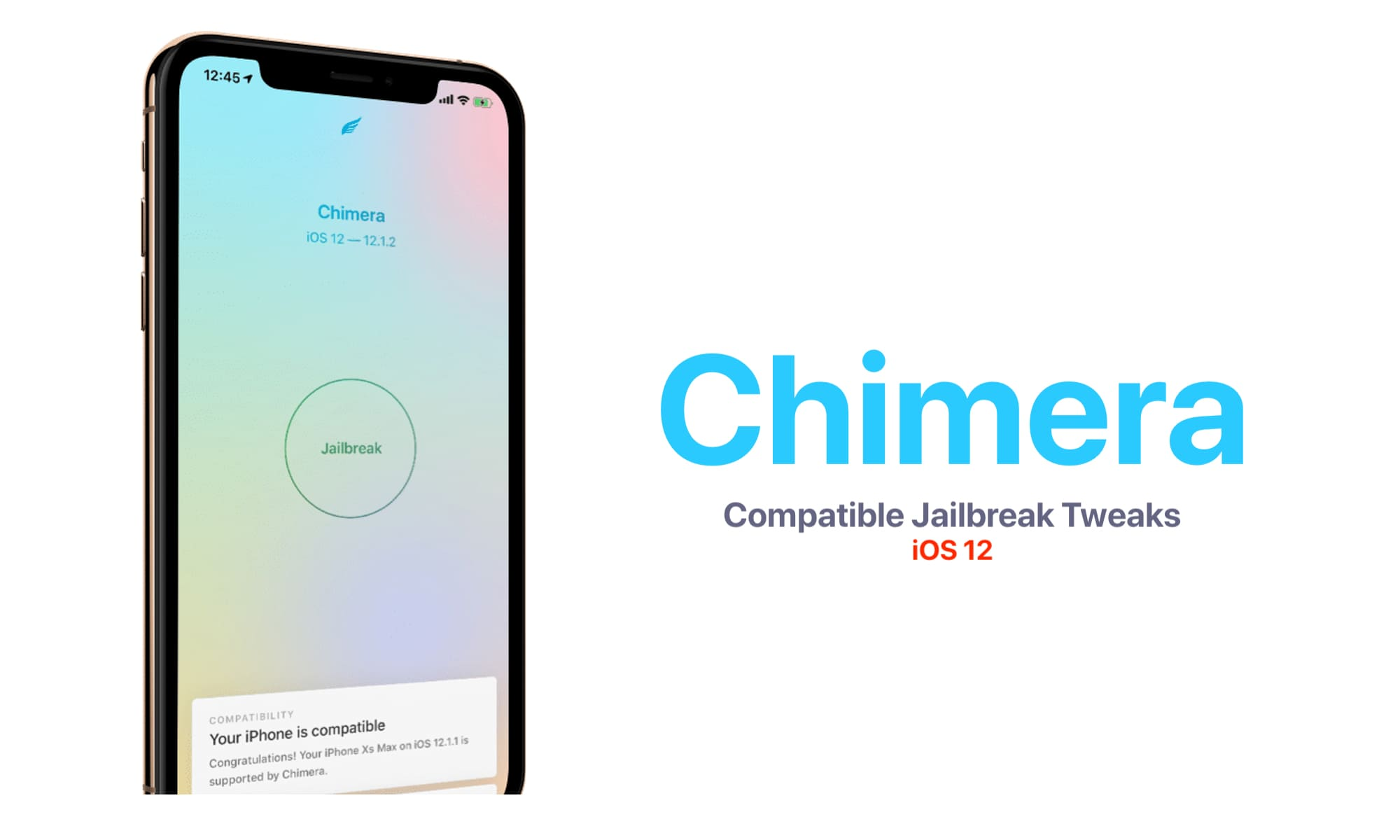 Download Chimera Jailbreak for iPhone XS Max [iOS 12
