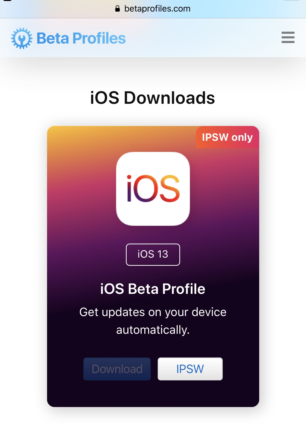 Download iOS 13 Beta Free for iPhone & iPad - TheLinuxOS